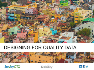 Read more about the article Survey Design for Quality Data – Part 1