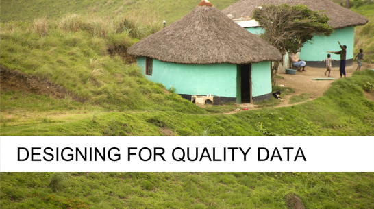 Survey Design for Quality Data – Part 2
