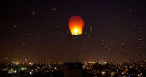 Lanterns over Ahmedabad