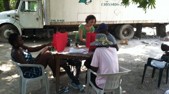 Running lab-in-the-field experiments in Haiti