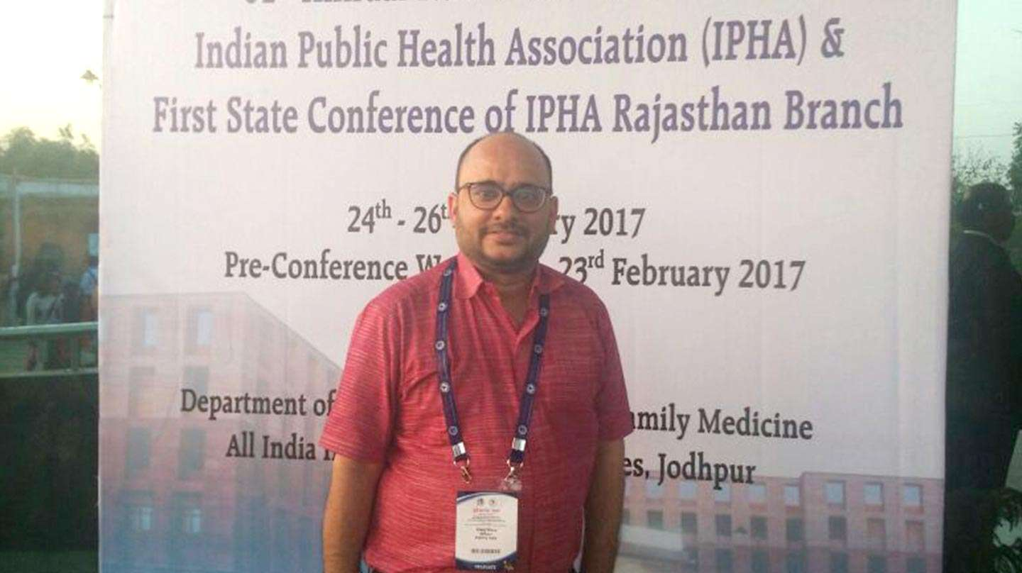 Meet the team: Vikas Arora on quality data and public health in India