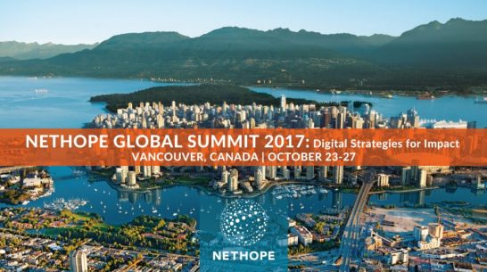 We're in Vancouver for the NetHope Global Summit!