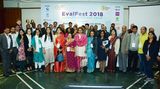 Key takeaways from EvalFest 2018, hosted by the Evaluation Community of India