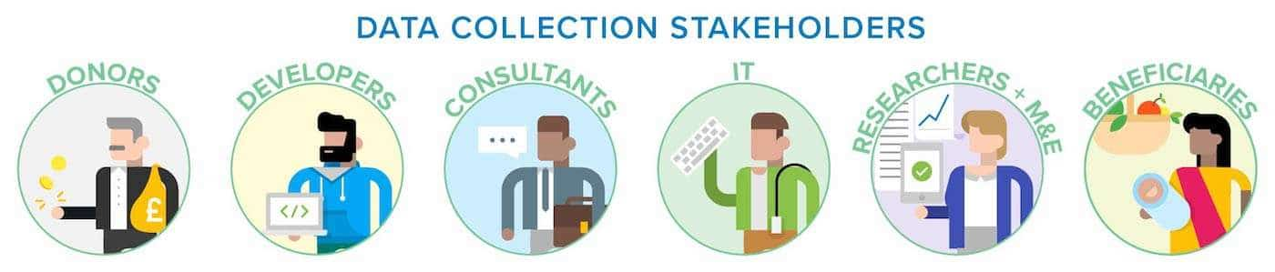 Digital data collection stakeholders