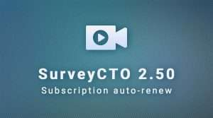 SurveyCTO 2.50: Subscription auto-renew settings