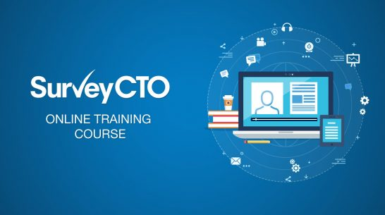 Check out the first complete set of modules in SurveyCTO's online training course
