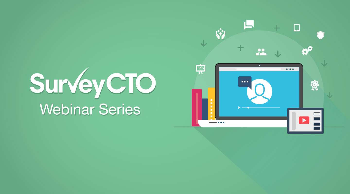 You are currently viewing Master repeat group relationships in SurveyCTO's new webinar series!