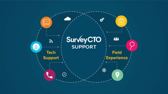 You don't need tech support. You need SurveyCTO support.