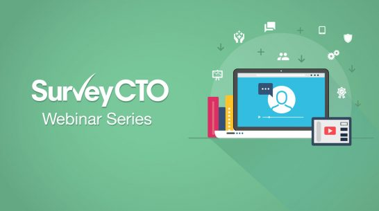 Starting a new project in 2021? Join our webinar to see what's new with SurveyCTO