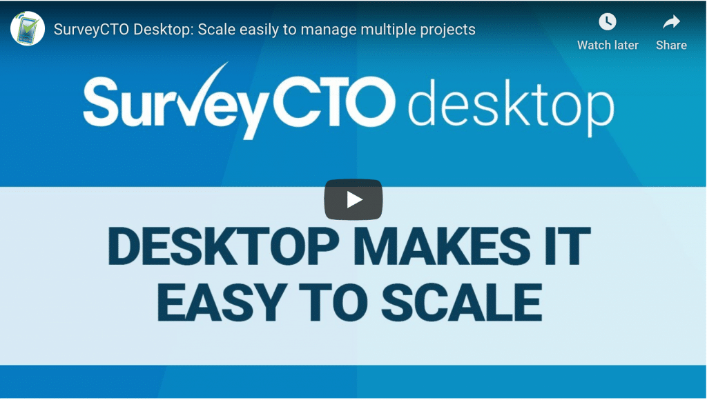 Desktop makes it easy to scale
