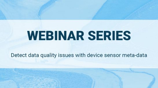 Detect data quality issues with device sensor meta-data