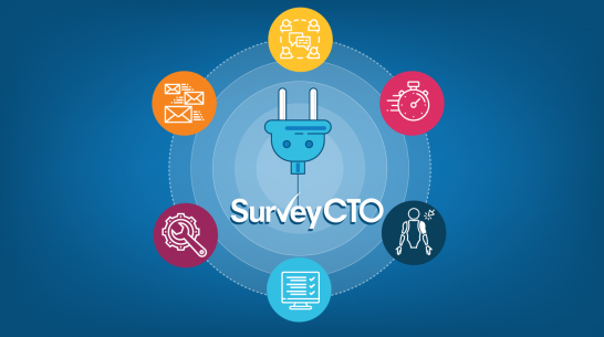 New SurveyCTO release: Quickly adapt to changing work demands with field plug-ins, real-time data sharing, and more