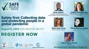 Safety first: Collecting data and protecting people in a global pandemic [Panel discussion]