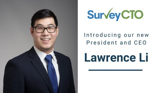 A letter to users and partners from our President & CEO, Lawrence Li