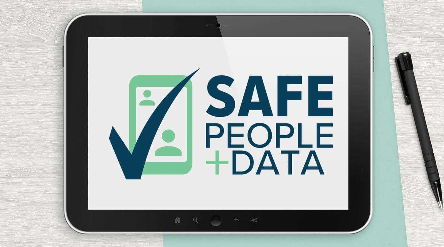 safe people and data logo