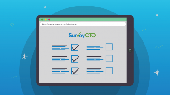 New SurveyCTO features: Experience more simplicity with an improved web form interface on mobile devices, a plug-in testing console, and more